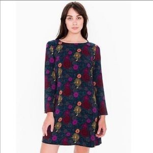 American Apparel Flower Dress